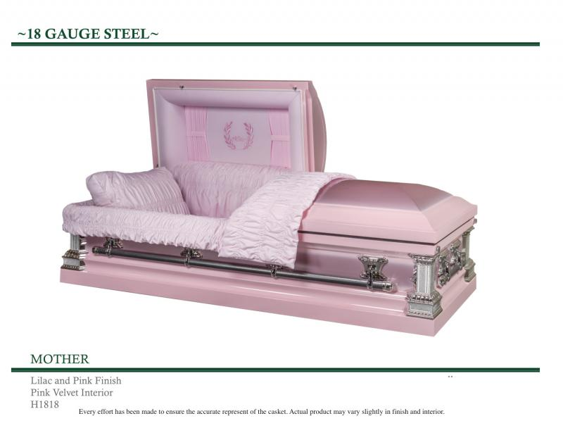 Mother Casket Pink and Lilac