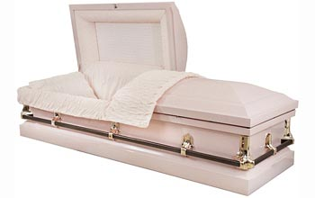 Light Pink Casket,